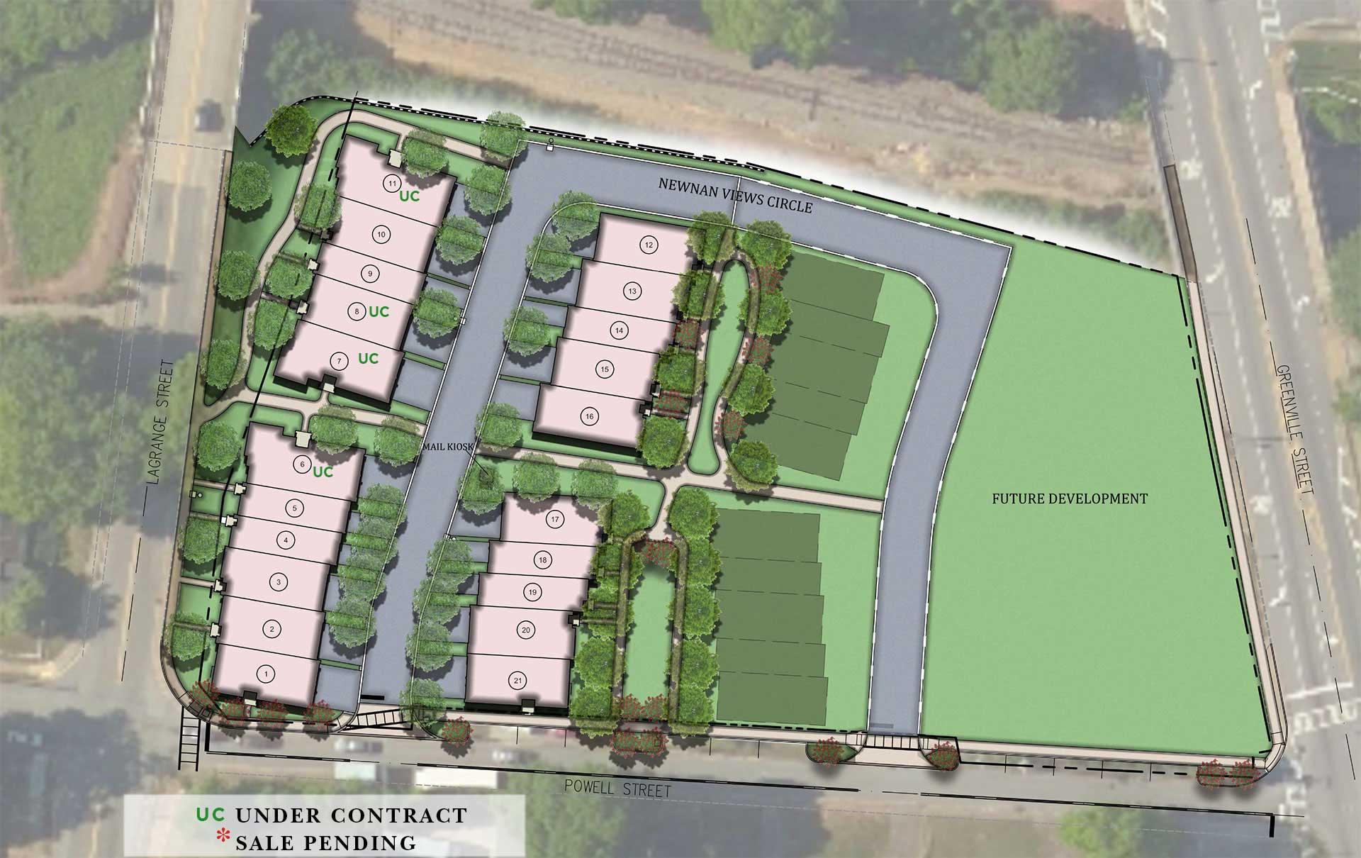 Newnan View Site Plan